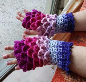 Μάλλινα γάντια χωρίς δάχτυηλα